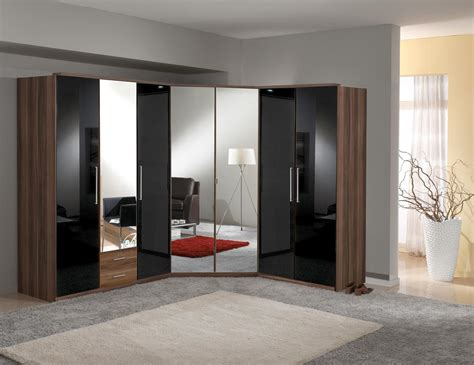 Contemporary Corner Wardrobes For Bedrooms  Small Room