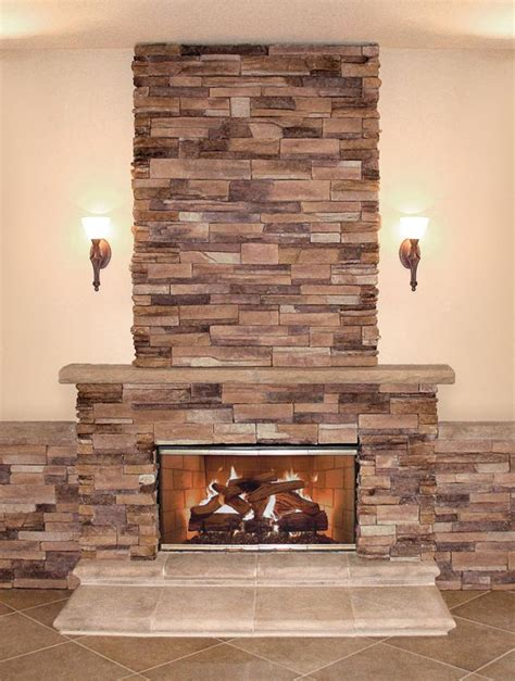 Best Stone Veneer For Fireplace  Fireplace Designs