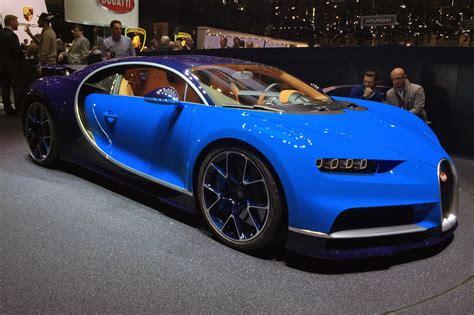bugatti chiron revealed  geneva   world