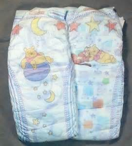 Adult in Huggies Diapers Size 6