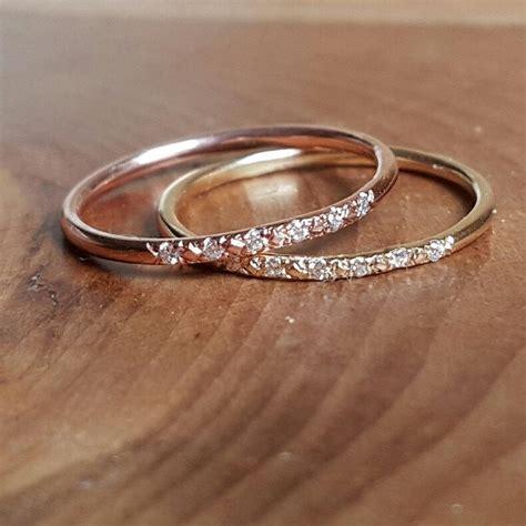 pink gold wedding band www pixshark images