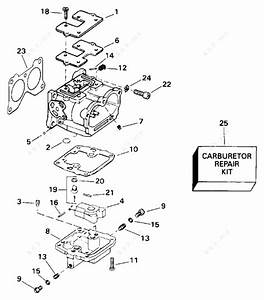 Evinrude 1996 115 - E115tleda  Carburetor