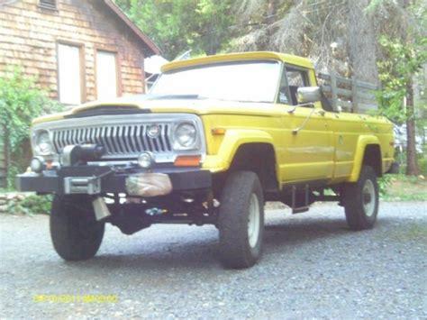 jeep gladiator  series  diesel  speed rock crawler rat rod firewood classic jeep