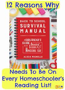 12 Reasons Why Back To School Survival Manual Needs To Be
