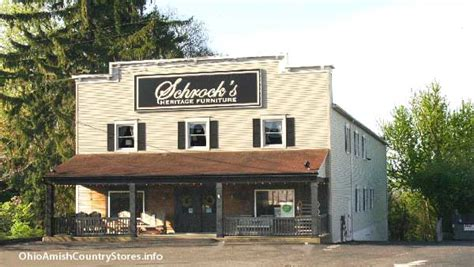 schrocks heritage furniture ohio amish country stores