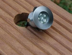 Eclairage Terrasse Bois : eclairage spots terrasse bois ~ Melissatoandfro.com Idées de Décoration