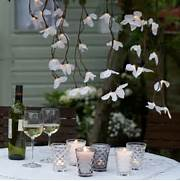 Garden Party Decoration Ideas by Atmospheric Lighting Create An Elegant Look For Outdoor Entertaining Hous