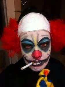 Scary Clown Homemade Costume Ideas