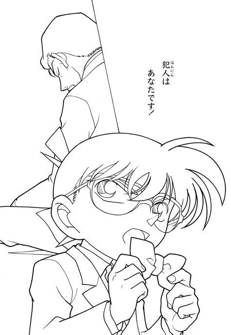 Coloring Book by Coloring Book Detective Conan