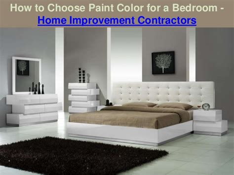 choose paint color   bedroom home improvement
