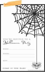 9 fun stylish ideas for halloween weddings a printable With blank halloween wedding invitations