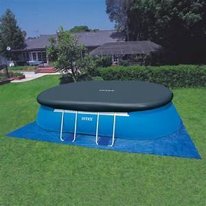 Pool 3 66 X 1 22 : intex oval frame pool set 610 x 366 x 122 cm 28194gn ~ Kayakingforconservation.com Haus und Dekorationen