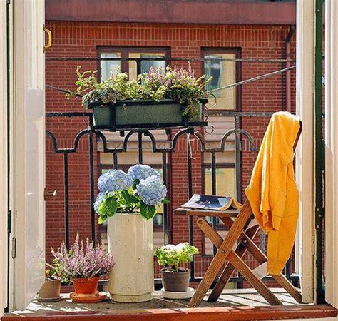 Gestaltung Kleiner Balkon by 10 Small Balcony Garden Ideas You Should Look