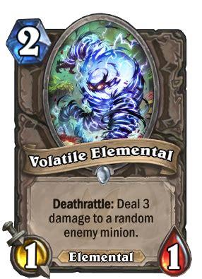 volatile elemental hearthstone wiki