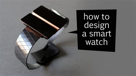 How To Design A Smart Watch  Design Process Youtube
