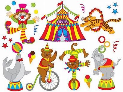 Circus Clip Carnival Clipart Animal Animals Digital