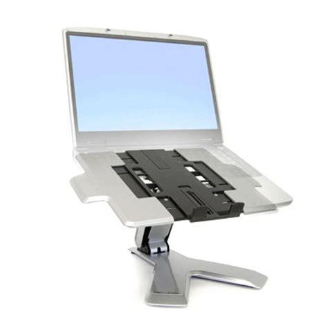 bureau pc portable ergotron neo flex support de bureau pour pc portable