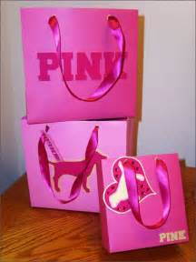 Victoria Secret Pink Shopping Bags