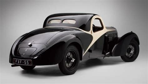As a late car it has the stronger rear axle, the cross braced chassis and rubber engine mounts. Bugatti 57C Atalante coupe - Bugatti