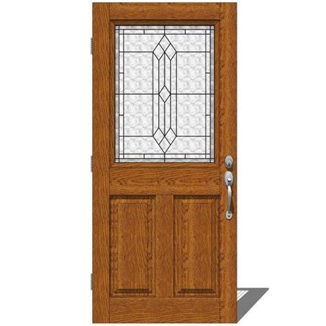 therma tru entry doors provincial 1 3d model formfonts