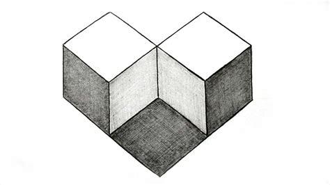 draw simple geometry shape optical illusion art