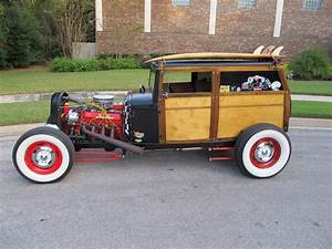 1931 Model A Ford Woody 2 Door Delivery Hotrod