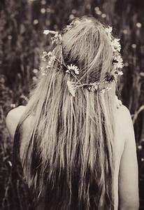Long Hippie Hairstyle 196039s Life Style Pinterest