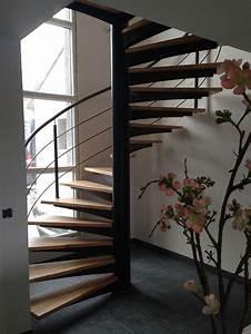 Escalier En Colimaçon : escalier helicoidal ~ Mglfilm.com Idées de Décoration