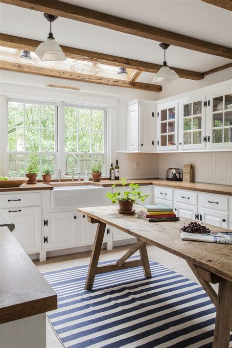 ridiculously charming modern farmhouse kitchen ideas hunker
