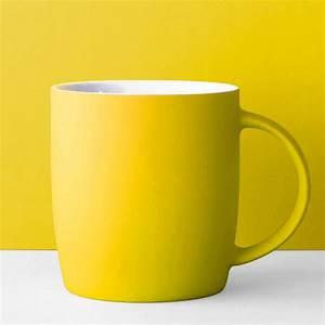 Mug à Thé : root7 neon mug yellow ~ Teatrodelosmanantiales.com Idées de Décoration