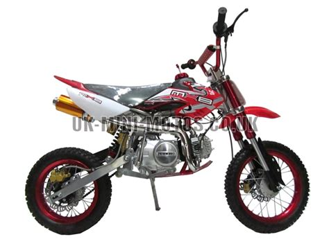 125cc Dirt Bike Red