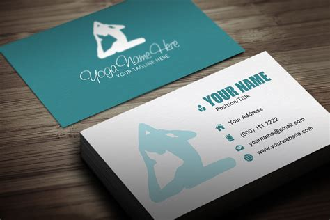 Yoga Business Card Template Business Card Salon Designs Perth Cards Ideas 2018 For Hvac Nail Tech Background Images Ppt Unique Word Document Letterhead Template