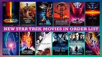 New Star Trek Movies in Order | Star Trek Series Order ...