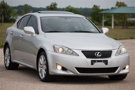 lexus used lexus is 250 for sale heated ventilated seats and sunroof