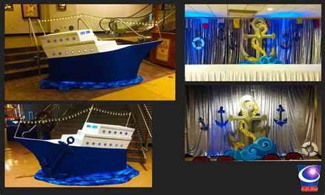 Cruise Party Theme Table Decorations Myideasbedroomcom