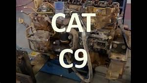 The Cat C9 Engine  Facts  Walk Around  Sensor Locations