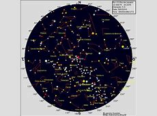 Cartas Celestes OnLine do AstronomiaBlogBr – Astronomia