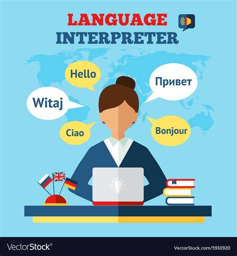 Language Translator by Language Translator Royalty Free Vector Image Vectorstock