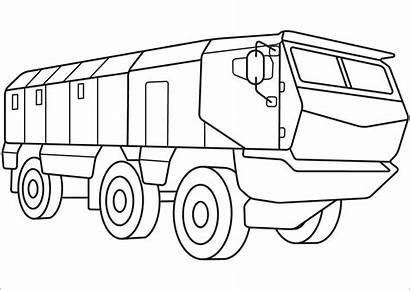 Coloring Carrier Army Dibujos Vehicles Anfibio Personnel
