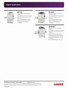 Lanier Full Line Guide March 2015