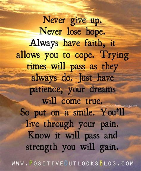 See more ideas about quotes, inspirational quotes, faith. Always Have Faith - Positive Outlooks and Humor | Having faith quotes, Daily inspiration quotes ...