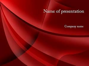 download free red curtain powerpoint template for presentation With video background powerpoint templates free download