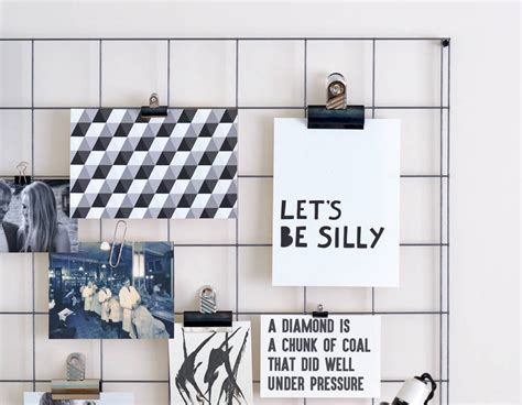 steel wire mesh noticeboard contemporary wall stickers