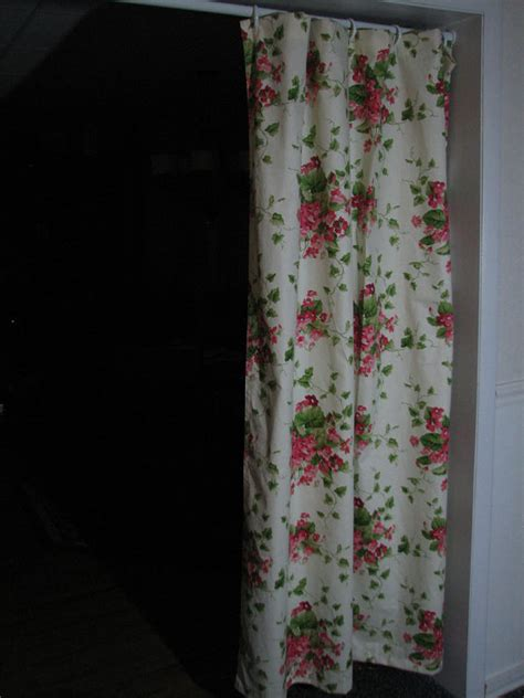 stall size pink bouquet shower curtain by positivelybiased