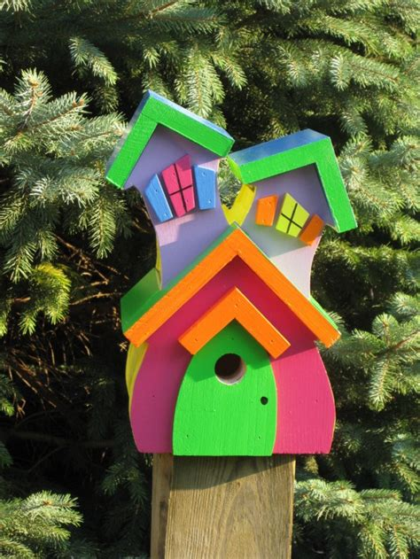 decorative  handmade wooden bird houses style motivation