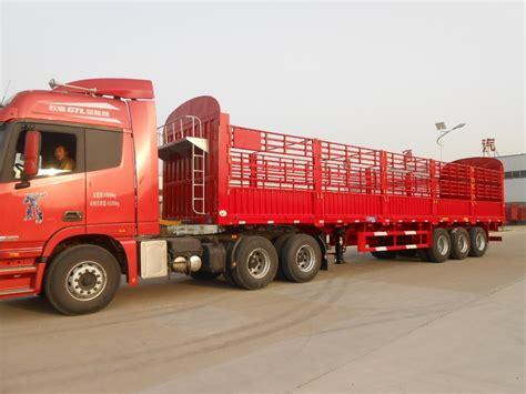 semi truck manufacturers cattle transport semi trailer manufacturers utility stake