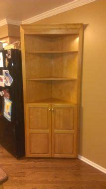 custom  corner cabinet  fearons fine woodworking
