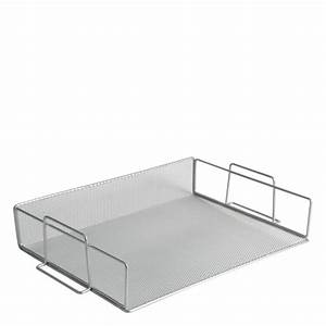 Mesh stackable letter tray franklincovey for Decorative stacking letter trays