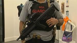 January Calendar Numbers Manatee School Guardian Carries Military Style Gun
