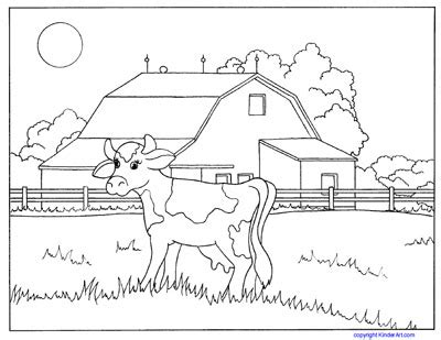 diy farm crafts  activities   farm coloring